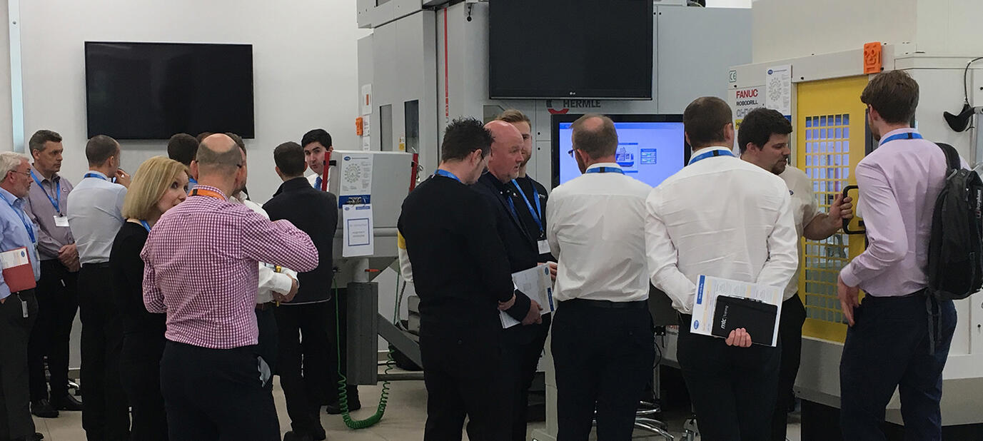 MSP engineers demonstrating our products to event delegates