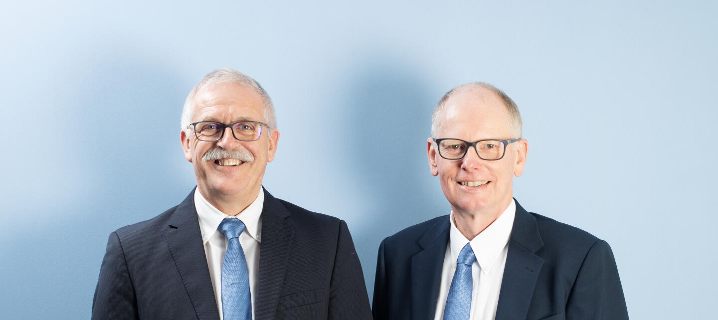 MSP Founders: Peter Hammond, Technical Director (left) and Tony Brown. Commercial Director
